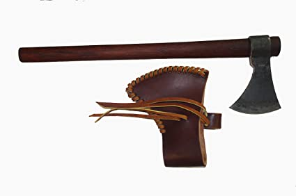 Amazon.com: forjado a mano Shawnee Throwing Tomahawk: Sports ...