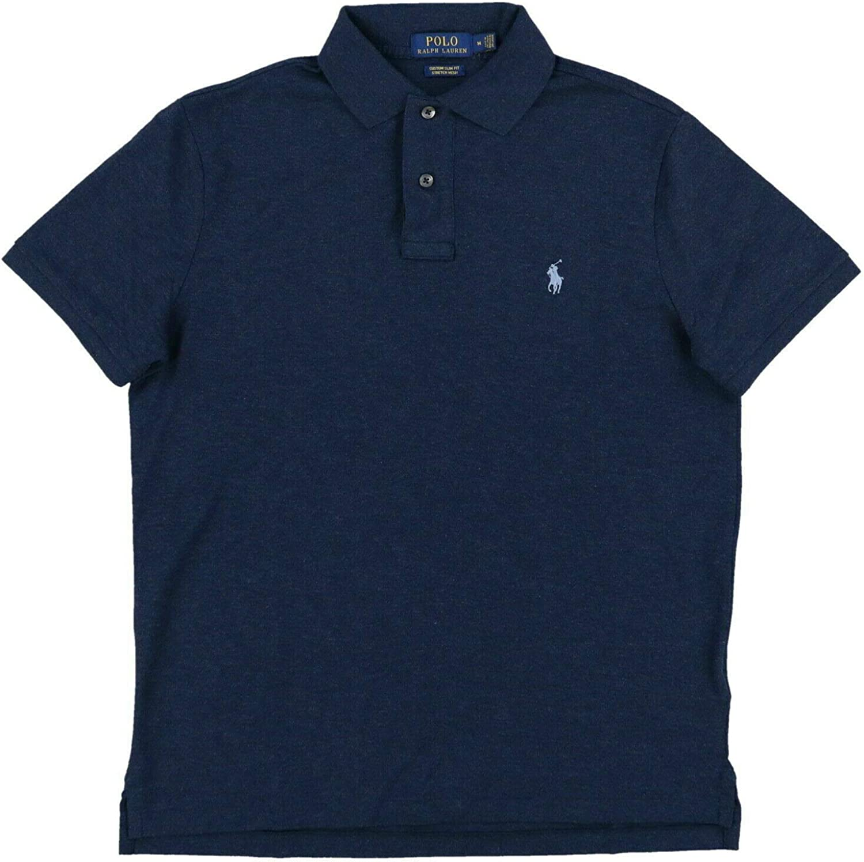 Polo Ralph Lauren Mens Slim Fit Logo Polo Shirt
