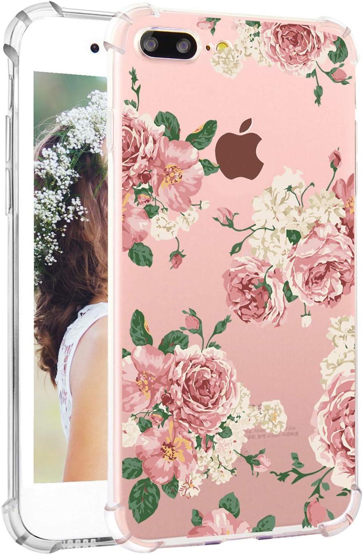 Amazon Com Floral Iphone 8 Plus Case Flowers Iphone 7 Plus Cases