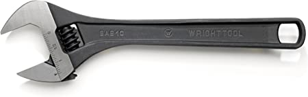 Channellock 808W 1-1//8-Inch Chrome Adjustable Wrench