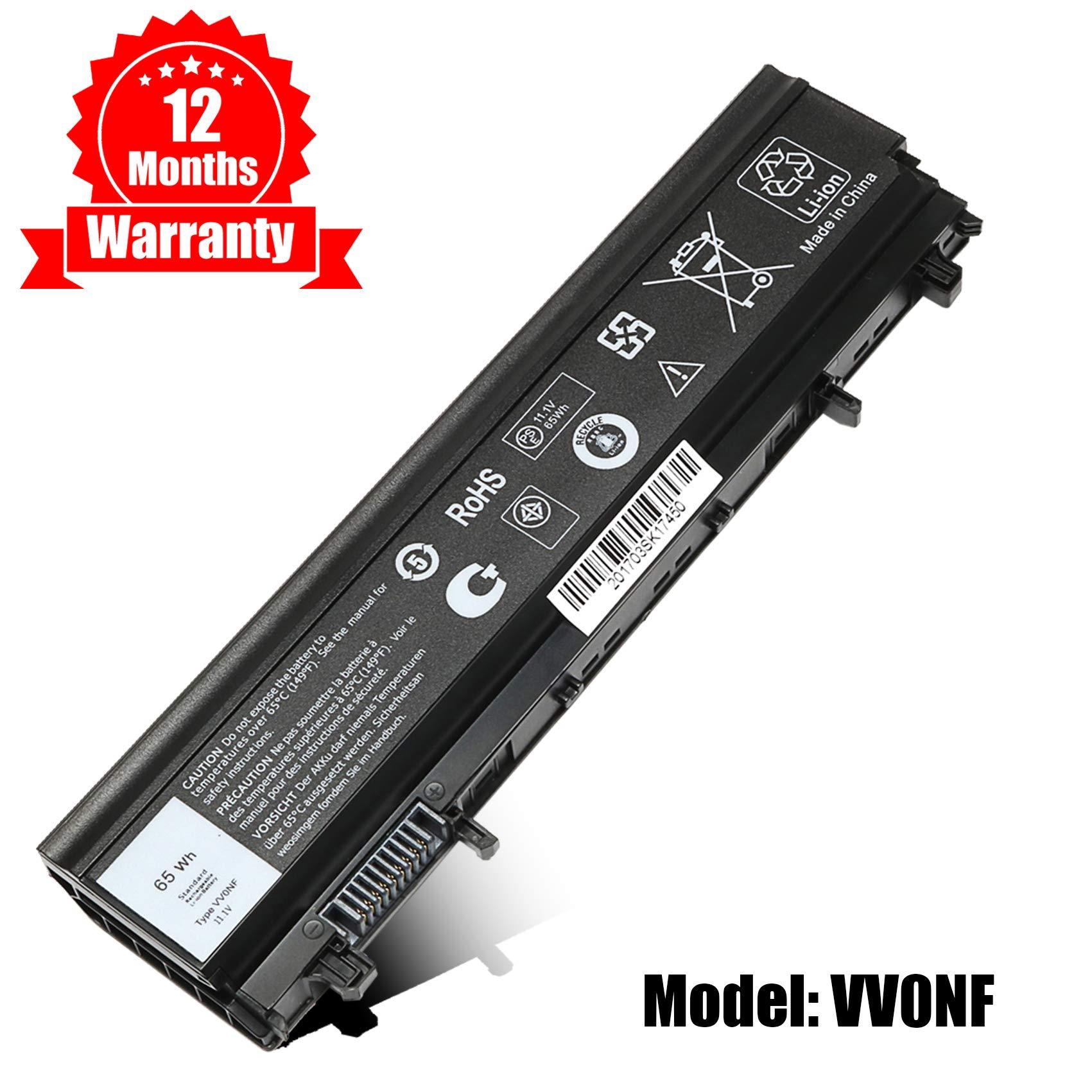 Bateria E5440 para Dell Latitude E5440 E5540 VV0NF N5YH9 0M7T5F NVWGM 9TJ2J 312-1351 451-BBIE-11.1V 65Wh