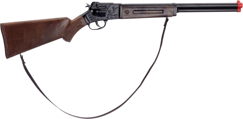 Gonher 97/6 - Escopeta con 12 disparos (75 cm, zinc antiguo)