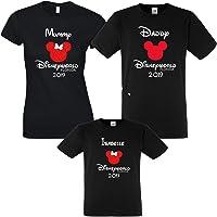 Disneyworld Florida 2019 BLACK T shirts Personalised Family T shirts Bundles