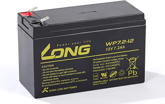 Kung Long 12v 7 2ah Wp7 2 12 Bleigel Akku Gel Batterie Elektronik