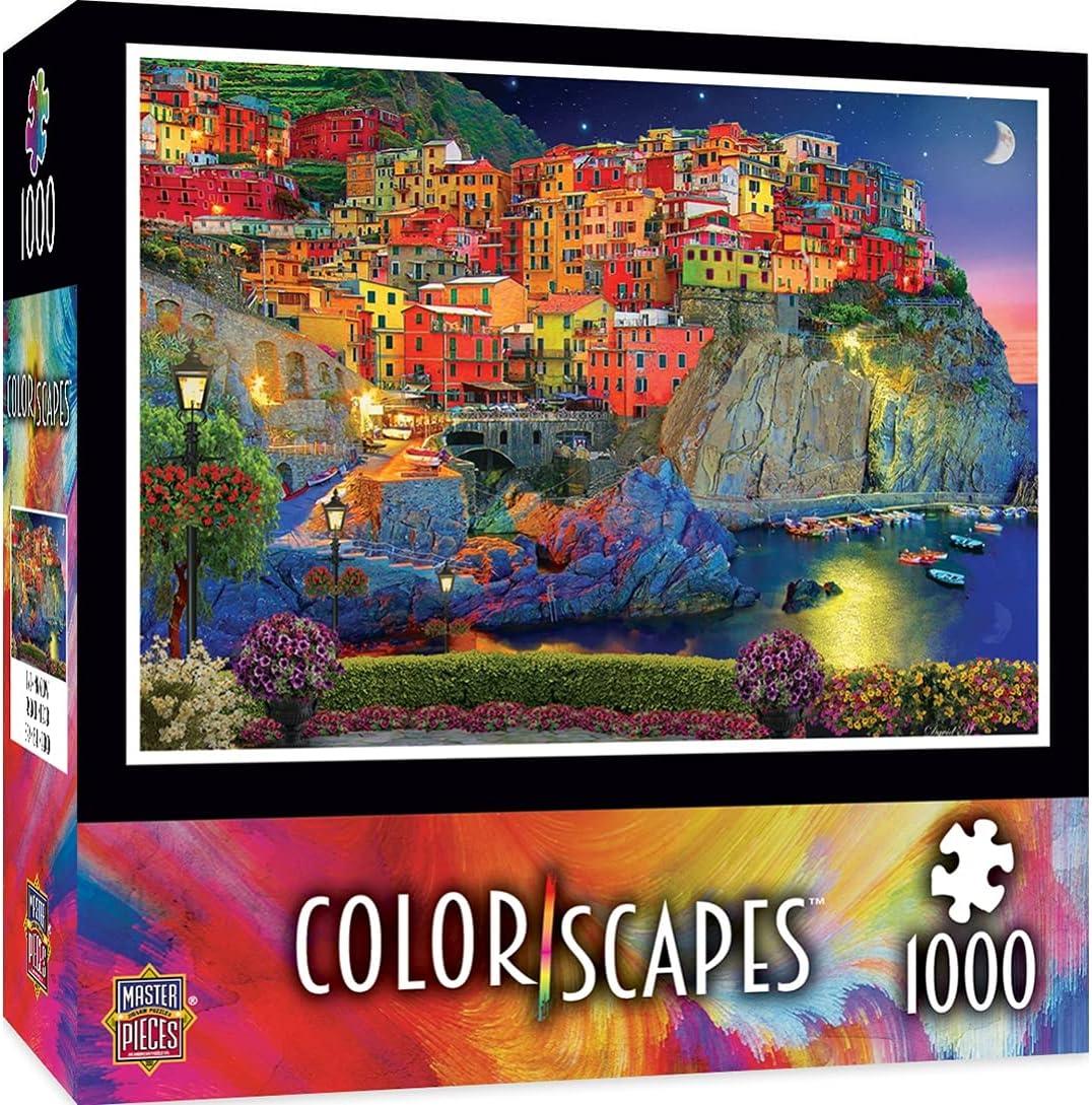 MasterPieces Colorscapes 1000 Puzzles Collection - Evening Glow 1000 Piece Jigsaw Puzzle