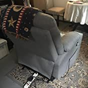 Amazon.com: Sillón reclinable con elevación TUV Motor Lounge ...