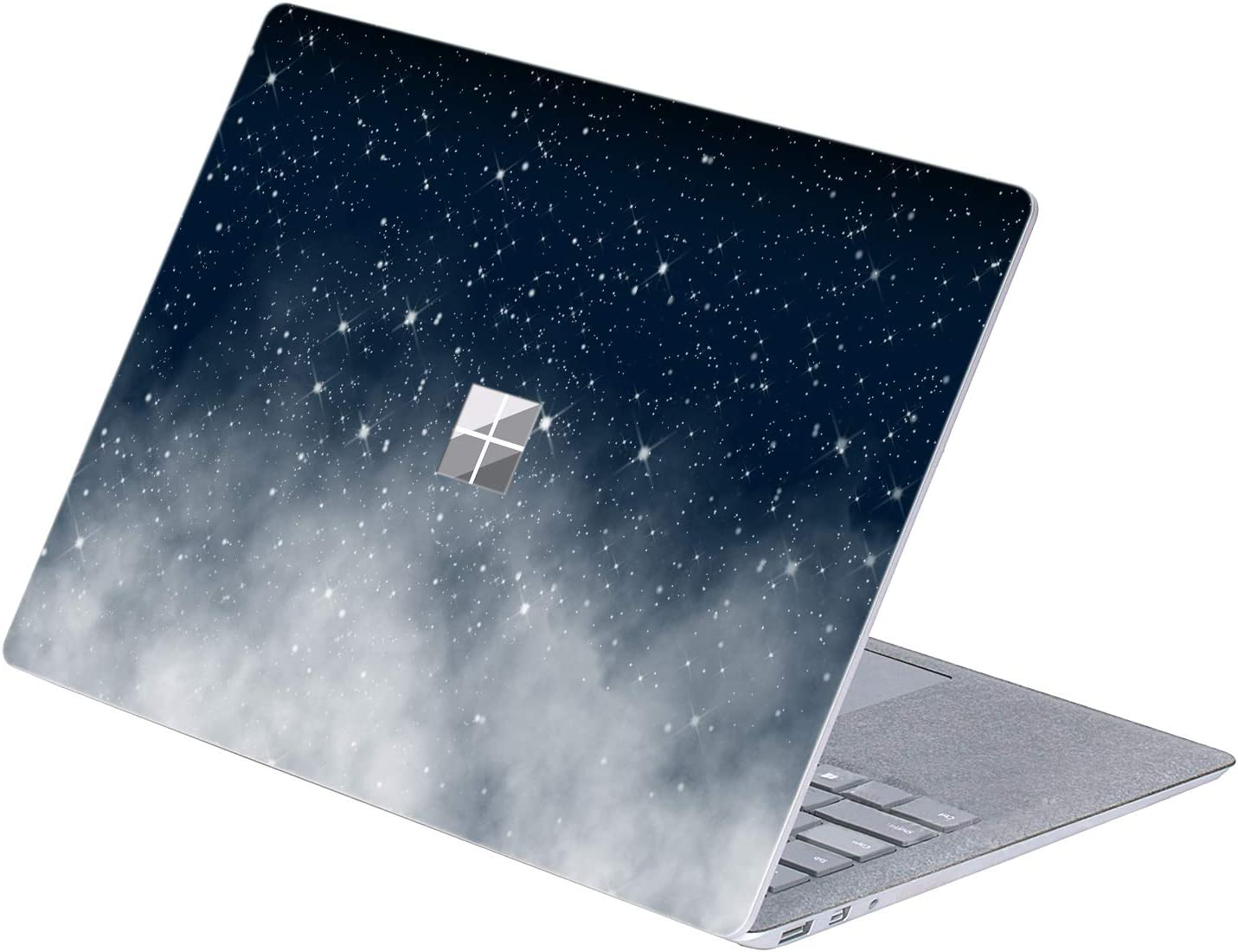 "MasiBloom 1 PCS Protective Decal Sticker Anti-Scratch Vinyl Laptop Cover Skin for 13"" 13.5 inch Microsoft Surface Laptop 3 & 2 & 1 (2019 2018 2017 Released) (for 13.5"" Surface Laptop, Starry Sky)"