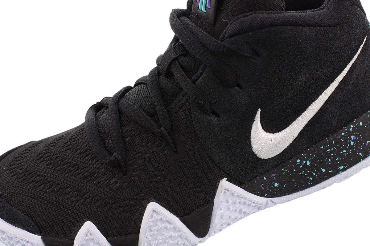 Nike Kids Preschool Kyrie 4 Basketball Shoes (Black/White,11K ...