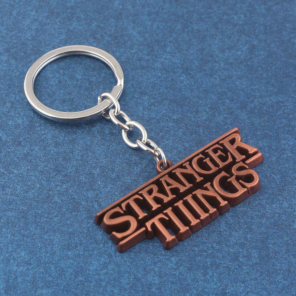 Horror TV Series Stranger Things Carta Llaveros Carta ...