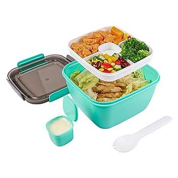 Toursion Bento Style Salad Container