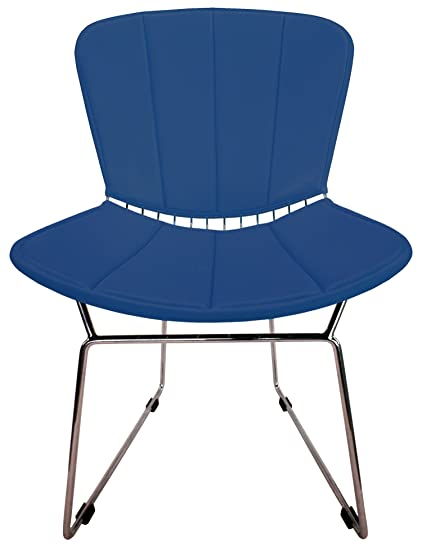 Incroyable Full Cushion And Back Pad For Bertoia Side Chair   Vinyl   Fits Original Or  Reproductions