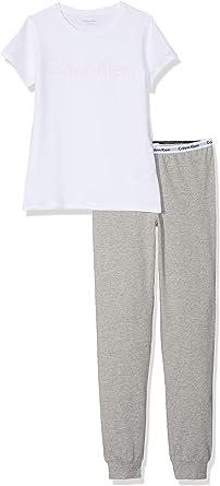 Calvin Klein SS Knit PJ Set Pijama para Niñas