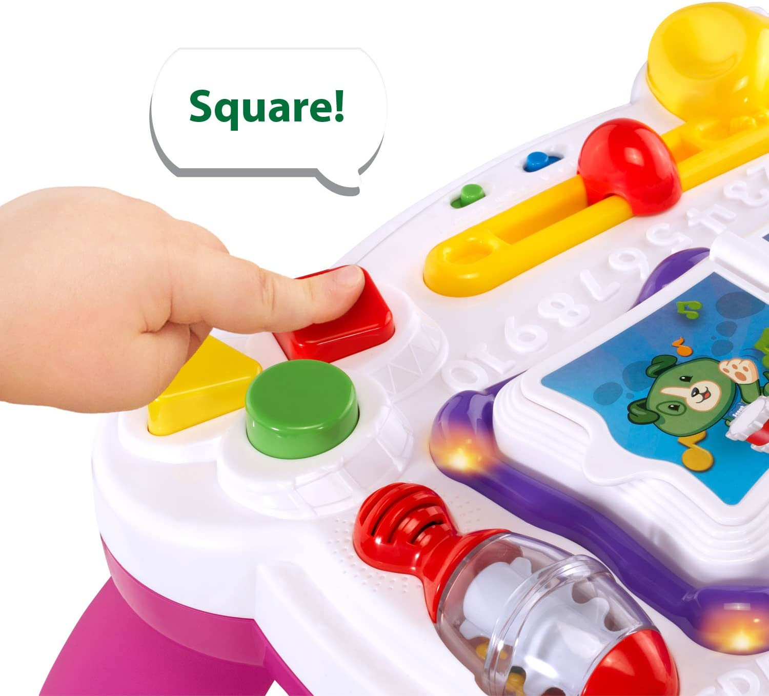 LeapFrog Learn and Groove Musical Table (Frustration Free Packaging), Green: Toys & Games