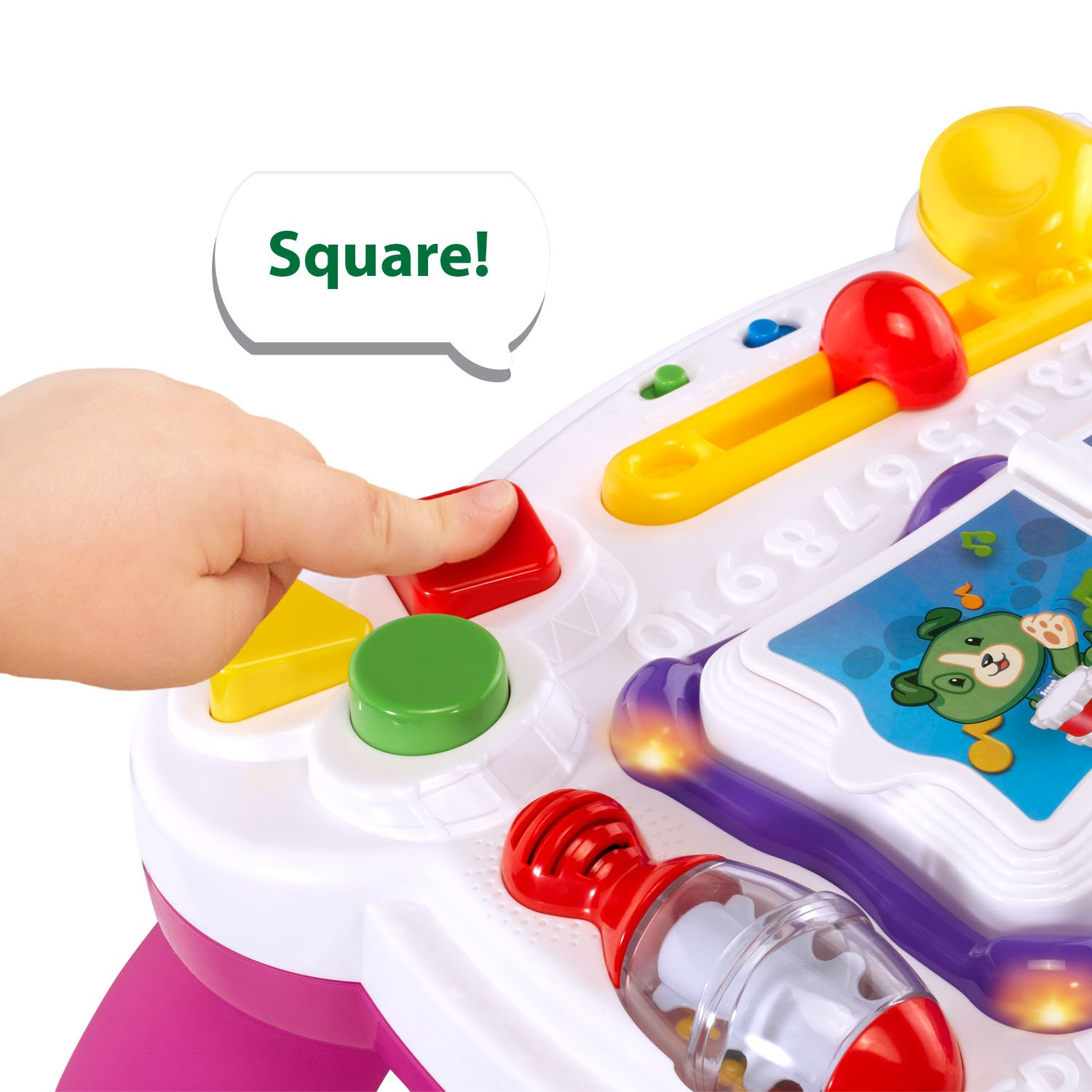 LeapFrog Learn and Groove Musical Table Activity Center Amazon Exclusive, Pink by LeapFrog (Image #4)