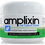 Amplixin Hydrating Hair Mask - Deep Conditioner Hair Treatment With Coconut & Argan Oil - Sulfate Free Hair Repair…