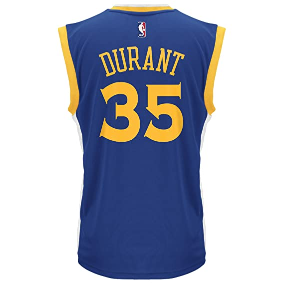 Adidas NBA Golden State Warriors Kevin Durant # 35 Hombre Replica Away Jersey, Hombre, 7818 3A9 AEB3414, Azul, Small: Amazon.es: Deportes y aire libre