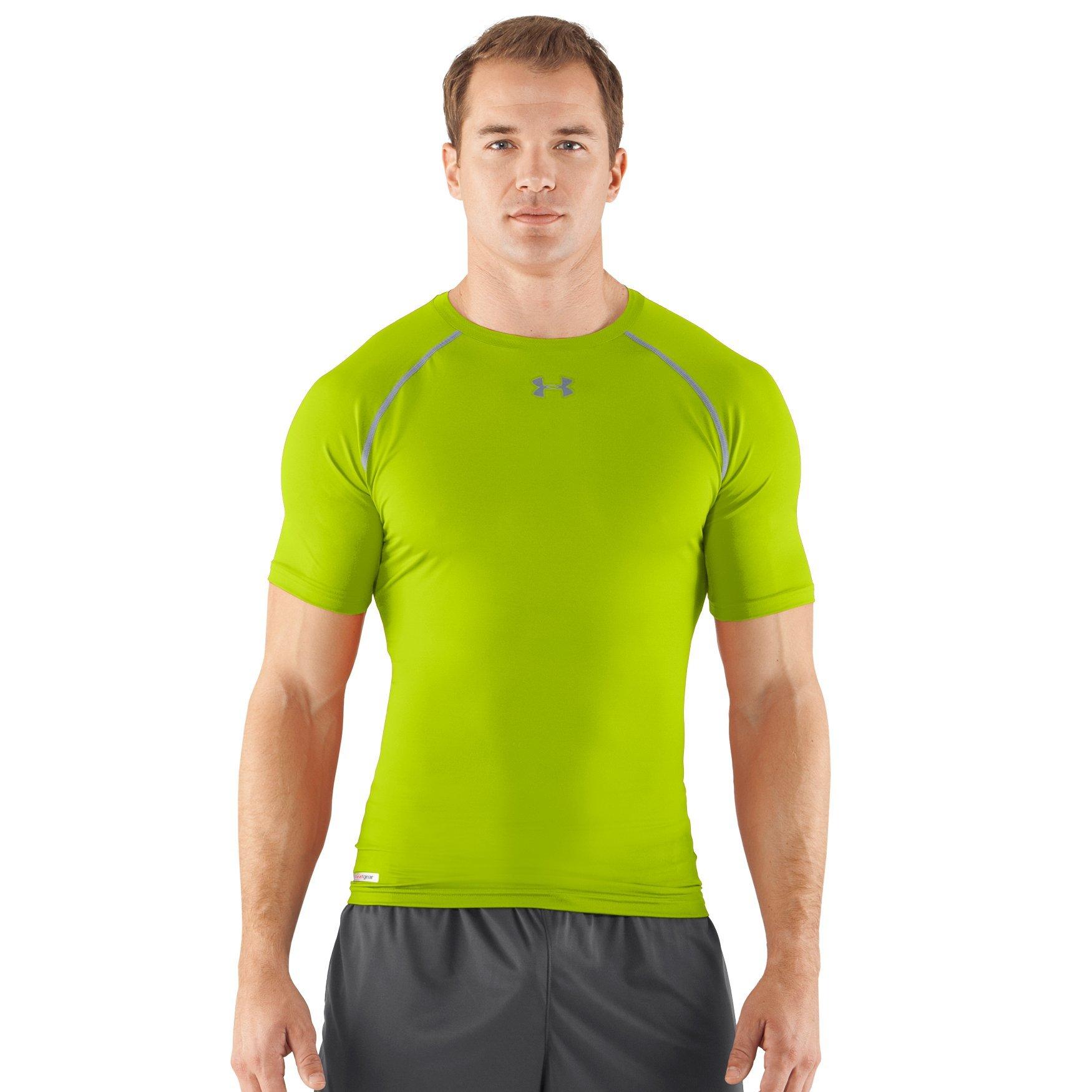 Under Armour Men/'s UA Compression Long Sleeve HeatGear T-Shirt Sonic Workout Tee