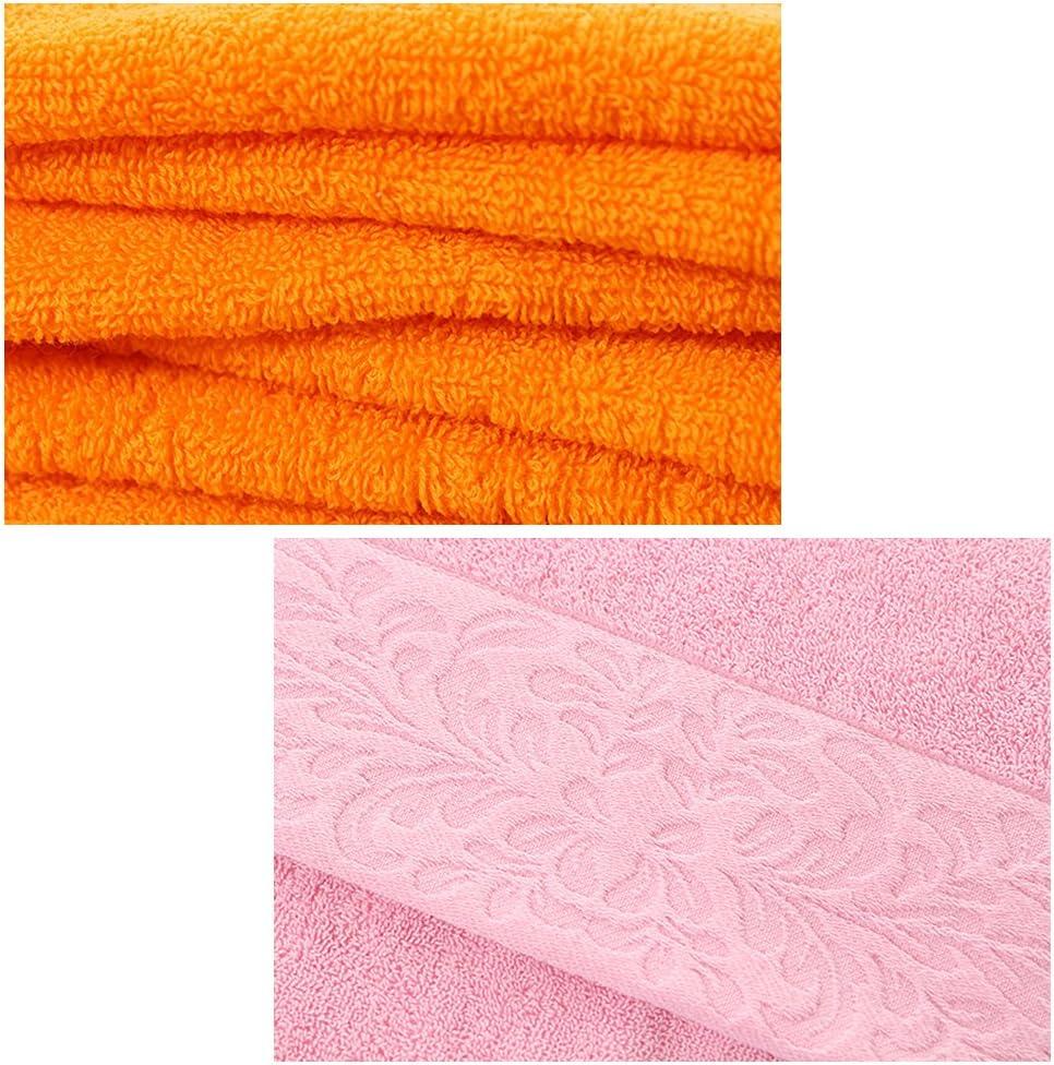 2PCS Thickening Cotton Hotel Towel Standard Hand Towel Set