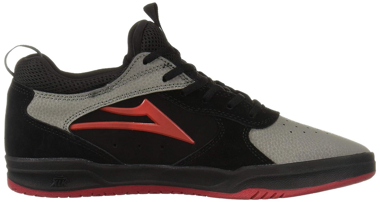 Lakai Footwear Proto Black//Grey Suedesize Tennis Shoe,