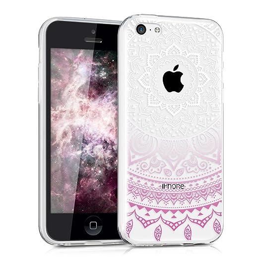 61 opinioni per kwmobile Cover per Apple iPhone 5C- Custodia in silicone TPU- Back case