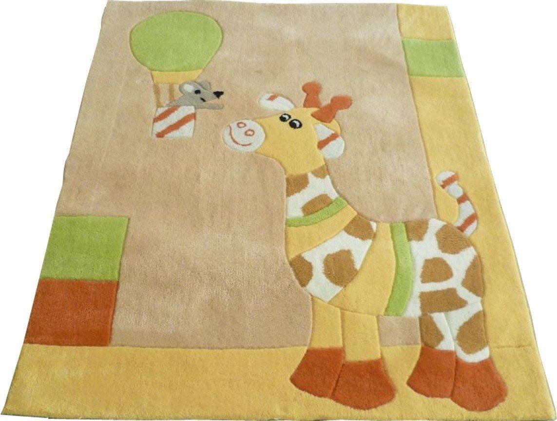 Sterntaler 96170 Kinderzimmerteppich Motivteppich Teppich Giraffe Gloria - 120x100cm