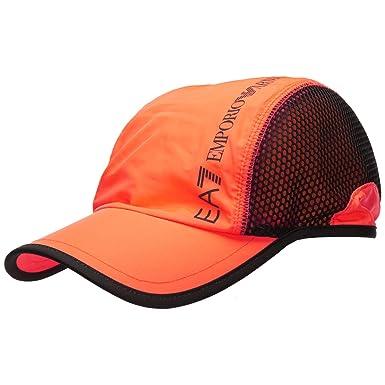 Emporio Armani EA7 Hombre Gorras Orange Fluo: Amazon.es: Ropa y ...
