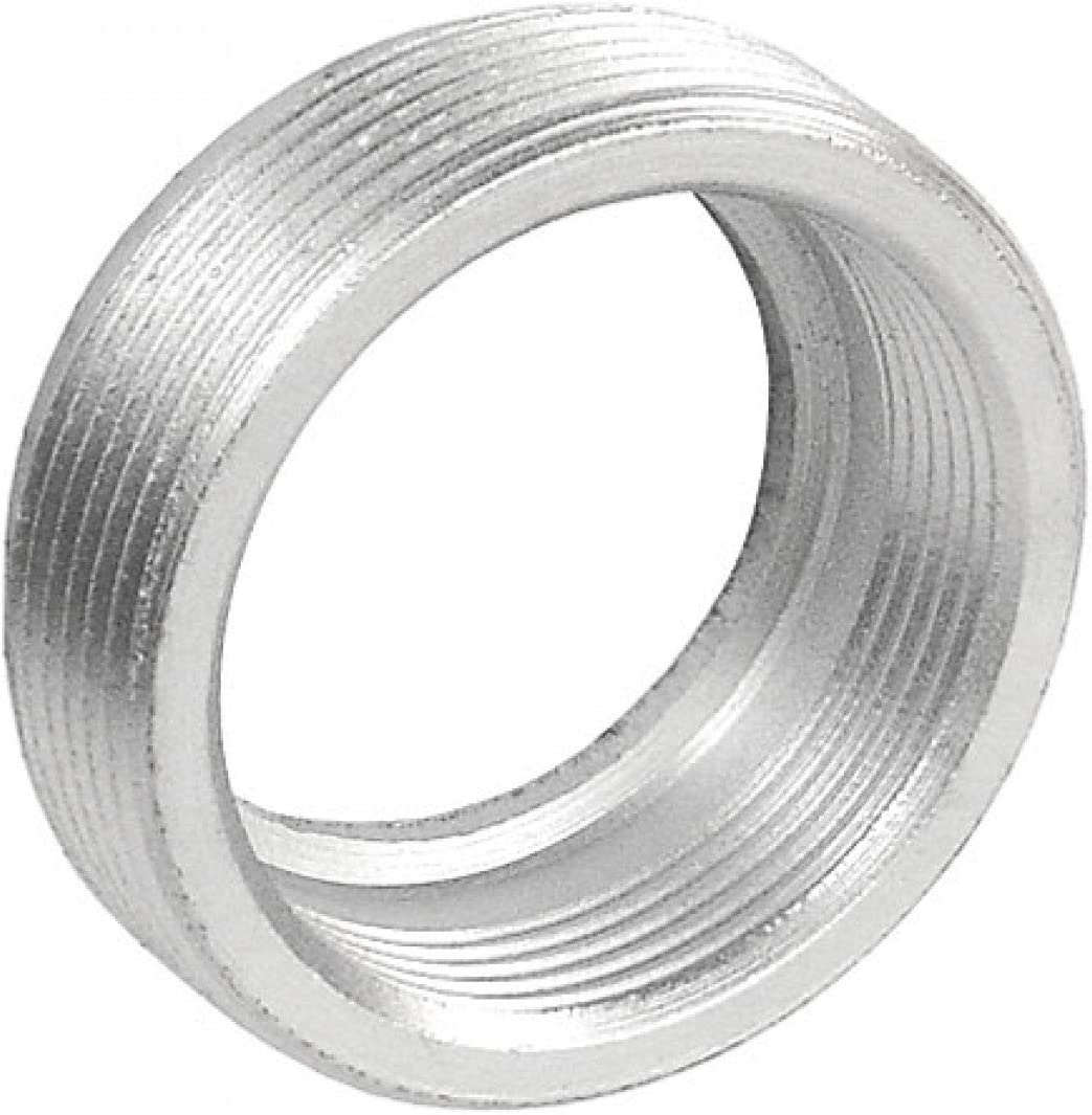 Zinc Plated Steel Reducing Bushing for Excellent Corrosion Protection In Damp Locations 5 Pcs 1//2 to 3//8 In