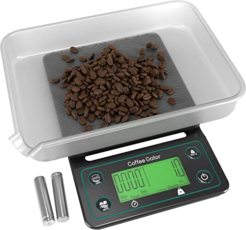 Coffee-Gator-Coffee-Scale-with-Timer-Digital-Multifunction-Weighing-Scale