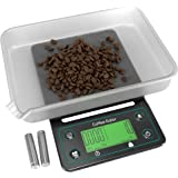 Coffee Scale with Timer - Coffee Gator Digital Multifunction Weighing Scale - Large, Bright LCD Display - Espresso Scale…