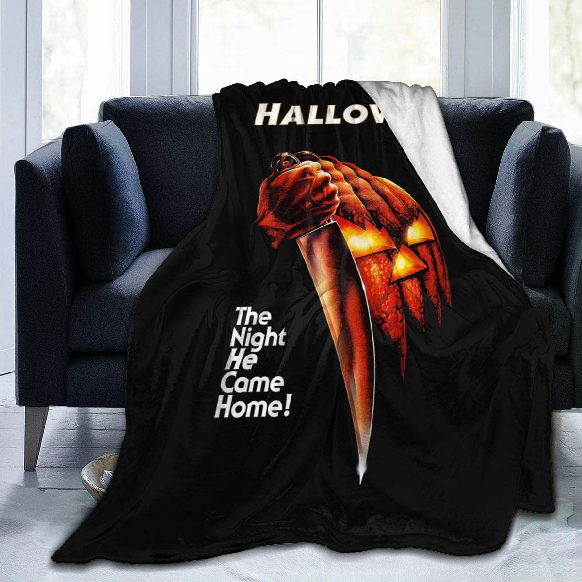 931 Michael Myers Warm Micro Fleece Throw Blankets,Bed Blanket and Sand Blanket,Suitable for Home and Outdoor Use 50