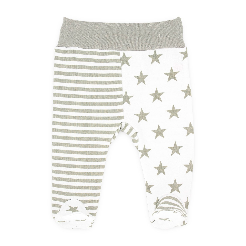 Baby-Mode Mädchen Stramplerhose Hose mit Fuß Babyhose -Kollektion Eule- (56 - 68)