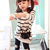 Ancia Baby Girl Kids Toddlers Long Sleeve Top Pant