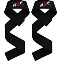 AQF Weight Lifting Gym Straps Crossfit Training Hand Bar Wrist Support Gloves Wrap Multi Colour