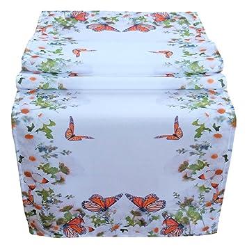 Tischlaufer 40 X 140 Cm Tischdecke Mitteldecke Ostern Tischdeko