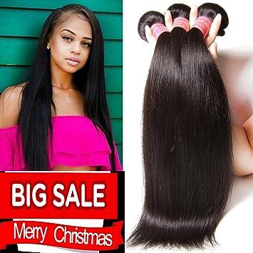Amazon yiroo brazilian virgin straight hair weave 3 bundles yiroo brazilian virgin straight hair weave 3 bundles 7a 100 unprocessed brazilian virgin human hair pmusecretfo Images