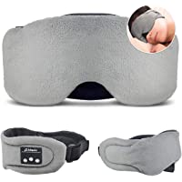 HEYMIX Bluetooth Sleeping Eye Mask Headphones,5.0 Wireless Bluetooth Headset Music Travel Sleep Headset Built-in…