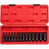 Sunex 1831 14 -Piece 1/4-Inch Drive Deep Metric Magnetic Impact Socket Set