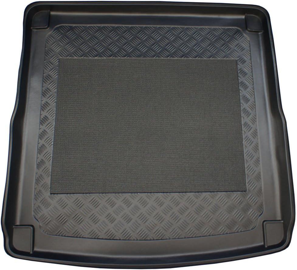 ZentimeX Z747008 Vasca baule su misura con superficie scanalata e integrato tappeto antiscivolo