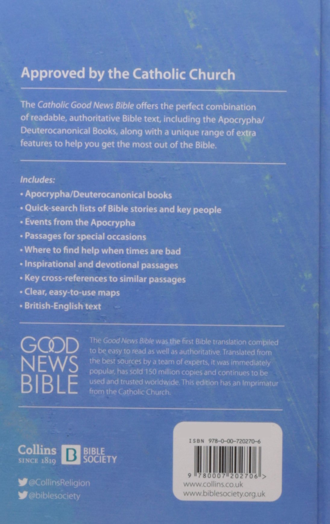 catholic good news bible gnb amazon co uk unknown catholic good news bible gnb amazon co uk unknown 9780007202706 books
