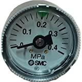 SMC リミットインジケータ付圧力計/カラーゾーンタイプ G36-4-01