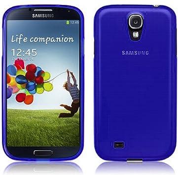 TBOC® Funda de Gel TPU Azul para Samsung Galaxy S4 i9500 de ...
