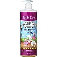 Childs Farm hair & body wash blackberry & organic apple 500ml