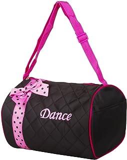98cf99555e17 Amazon.com  Dance Bag- Sequin Star Round Duffel Fuschia Pink  Sports ...