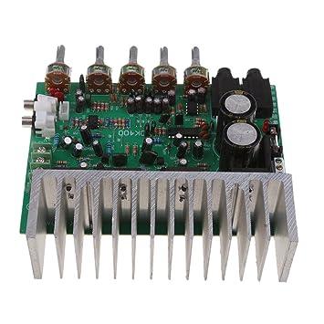 Sharplace 400W Digital Kanal Audioverst/ärker Leistungsverst/ärker Brett Platine AC22-26V Low Noise Enhanced Version