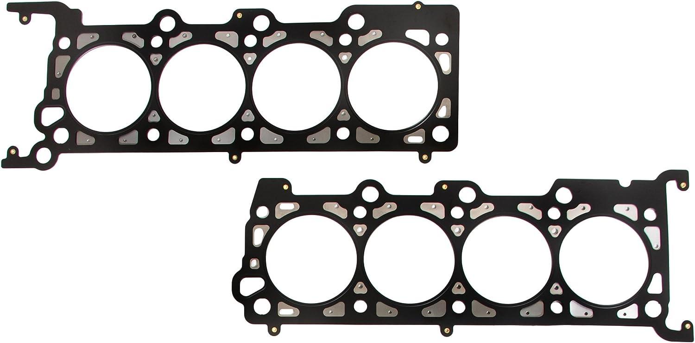 Domestic Gaskets Engine Rering Kit FSBRR8-21115\0\1\1 Fits 00-04 Ford E150 E250 F150 Excursion 5.4 SOHC 16V Full Gasket Set 0.010 Oversize Main Rod Bearings 0.25mm Standard Size Piston Rings