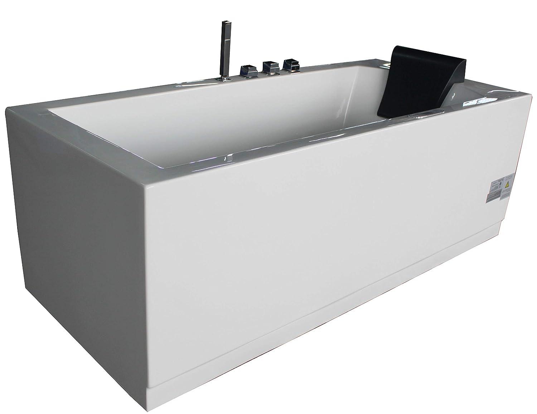 EAGO AM154ETL-L6 Whirlpool Tub Color blanco pieza y accesorio de ...