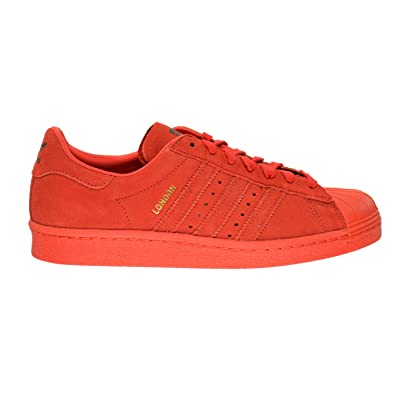 adidas Superstar 80s City Series London Men s Shoes Red b32664 (13 D(M) 78f2604bc4c