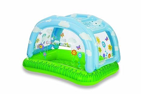 Intex Piscina Inflable con Cubierta: Amazon.es: Bebé