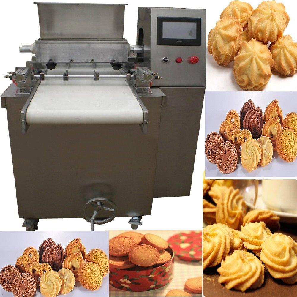 Automático PLC controlado galletas macarons galletas dropping ...