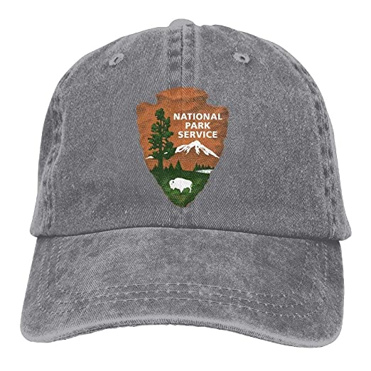 National Park Services Denim Cap Trucker Cap Black at Amazon Men s ... 2cb088dc0467